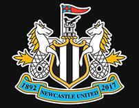 NUFC Commemorative Badge
