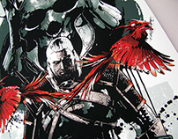Xbox • Witcher 3 artwork