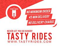 Tasty Rides | Graphic Design Internship Project