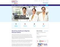 Website Design and Wordpress CMS for Hospital Website