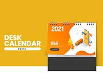 SEYİR MOBİL DESK CALENDER - 2021