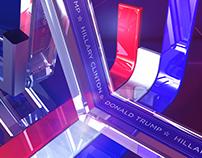 A Escolha da América Eleições EUA 2016 3D Rui Aranha