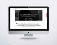 Webdesign Noir Photography