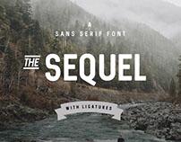 The Free Sequel Sans Serif Font