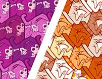 Animal tessellation patterns