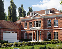 Visuals for a project in Surrey, Cobham