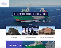 Shipbuilding Services Web design Navimor