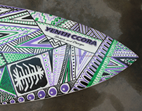 All Over - Surfboard Art - CHOCLO PROJECT