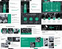 38+ Best Blue Creative business plan PowerPoint templat