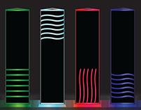 Neon Element Stones
