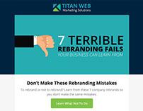 Email Newsletter Design & Development - Titan WMS