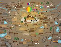 Cappadocia Map illustration