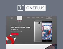 OnePlus E-commerce Redesign Concept