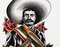 Emiliano Zapata Portrait