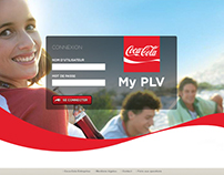 Coca-Cola Entreprise - Web2Print intranet for resellers