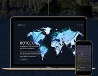 BOTECO website design