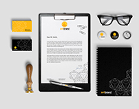 Corporate identity for Antibrand