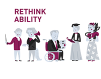 Illustrations for Rethink Ability