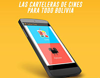 """Aplicación Móvil """"Señor Cine"""""""