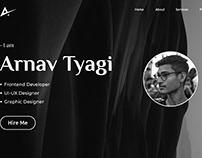 UI for My Website