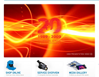 Pace Technologies website design