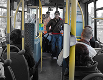 E-Ticket   Public transport 'validator' design concept