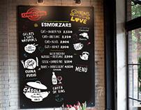 chalkboard bistro