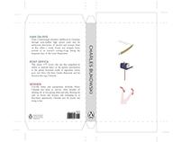 Charles Bukowski novel redesign
