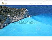 Κατασκευή ιστοσελίδας villakefalonia.eu