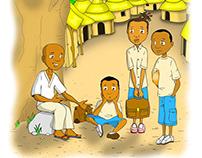 Projet illustration livre enfants au Mali tome 1