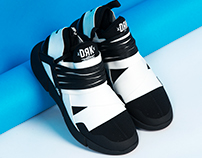 XCR-1 - footwear design and collection for DRK SS16