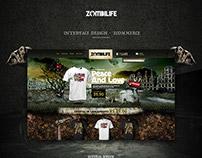 Zombilife - Ecommerce