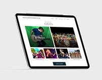 Minimal Responsive Website Design - Auckland Tourism