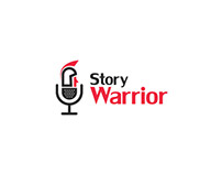 Logo - Business Story Telling firm called Story Warrior