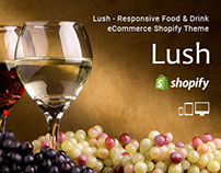 Lush – Responsive Food & Drink eCommerce Shopify Theme