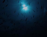 Deep Blue Cosmos I