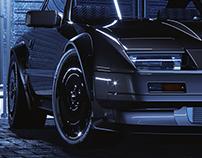 Nissan Fairlady 3D modelling (free model)