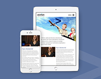 Accenture (Brasil) / Diseño Web Responsive