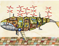 Whale-type Airship