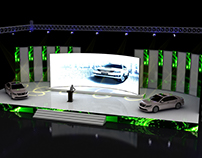 Toyota 26th Annual Dealer Conference Stage design