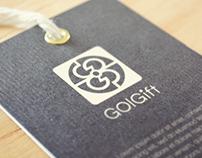 GolGift Logo + Pre UI Design