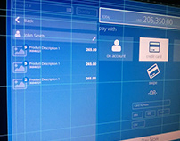 Point of sale Wireframes