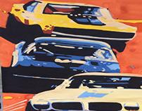 Retro race.