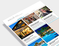 Newsletter Meliá