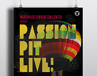 Passion Pit Poster Design