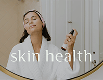 Skin Health — e-commerce design