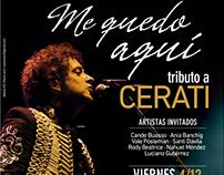 Identidad para concierto Tributo a Cerati