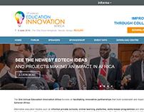 Education Innovation Africa - Website Design