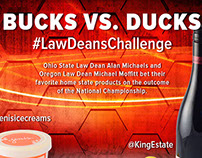 Bucks vs. Ducks