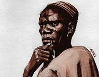 Miner from the transkei, Johannesburg